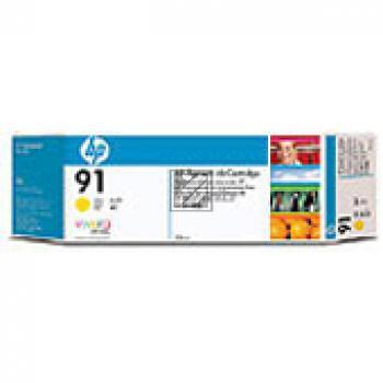HP Tintenpatrone 3x gelb 3-er Pack (C9485A, 3x 91)