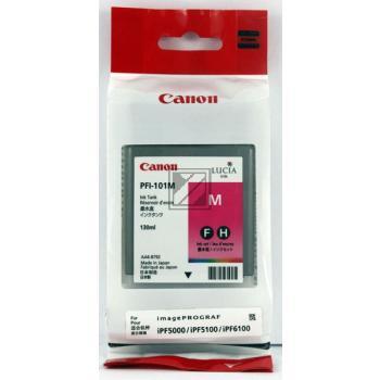 Canon Tintenpatrone pigmentierte Tinte magenta (0885B001 0885B001AA, PFI-101M)