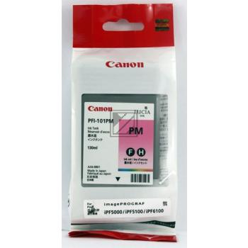 Canon Tintenpatrone Photo-Tinte Pigmentierte Tinte Photo magenta (0888B001, PFI-101PM)