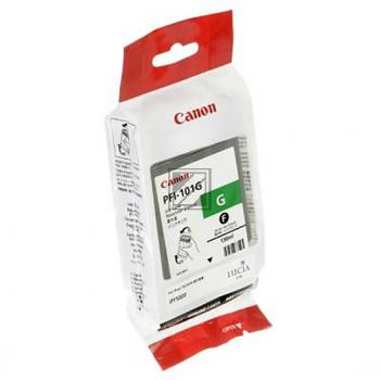 Canon Tintenpatrone pigmentierte Tinte grün (0890B001 0890B001AA, PFI-101G)