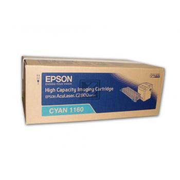 Epson Toner-Kit cyan HC (C13S051160, 1160)