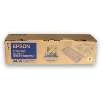 Epson Toner-Kartusche schwarz (C13S050436, 0436)