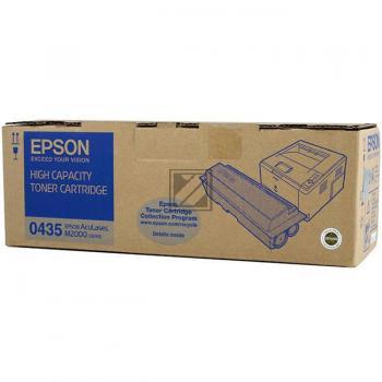 Epson Toner-Kartusche schwarz HC (C13S050435, 0435)