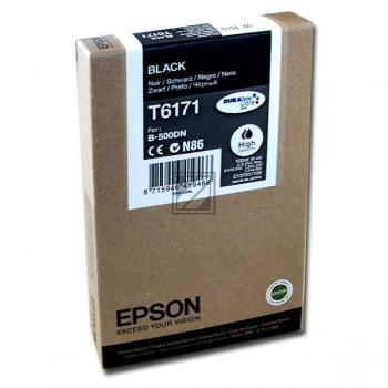 Epson Tintenpatrone schwarz HC (C13T617100, T6171)