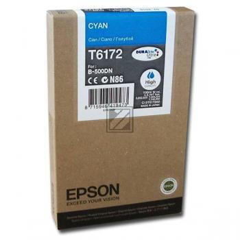Epson Tintenpatrone cyan HC (C13T617200, T6172)
