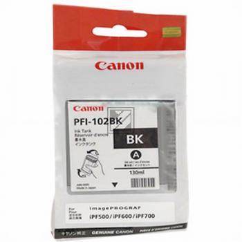 Canon Tintenpatrone Photo-Tinte photo schwarz (0895B001, PFI-102BK)