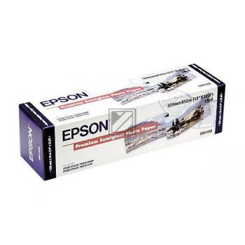 Epson Premium Semigloss Photo Paper Roll weiß (C13S041338)