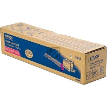 Epson Toner-Kit magenta (C13S050475, 0475)