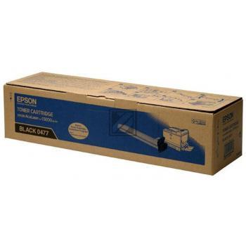 Epson Toner-Kit schwarz (C13S050477, 0477)
