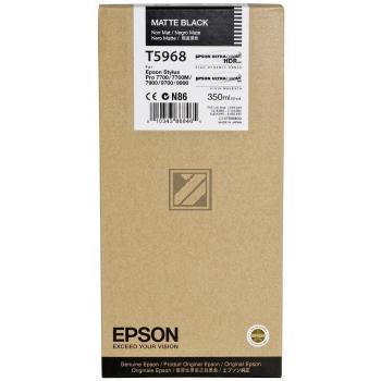 Epson Tintenpatrone schwarz matt (C13T596800, T5968)