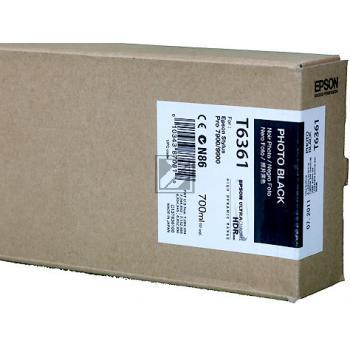 Epson Tintenpatrone Photo-Tinte photo schwarz (C13T636100, T6361)