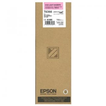 Epson Tintenpatrone magenta light (C13T636600, T6366)