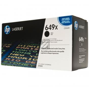 HP Toner-Kartusche schwarz HC (CE260X, 649X)