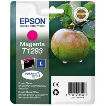 Epson Tintenpatrone magenta HC (C13T12934010, T1293)