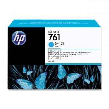 HP Tintenpatrone cyan (CM994A, 761)
