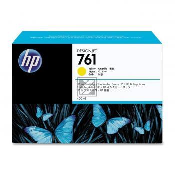 HP Tintenpatrone gelb (CM992A, 761)