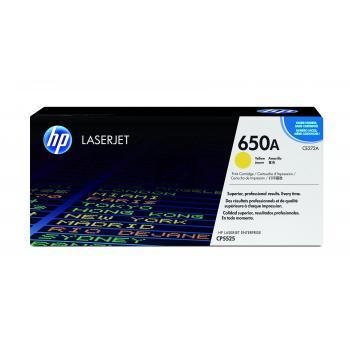 HP Toner-Kartusche gelb (CE272A, 650A)