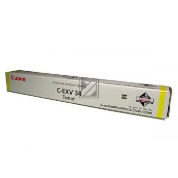 Canon Toner-Kit gelb (3785B002, C-EXV34Y)