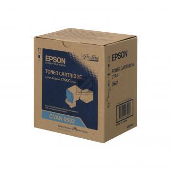 Epson Toner-Kit cyan (C13S050592, 0592)