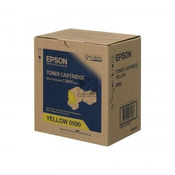 Epson Toner-Kit gelb (C13S050590, 0590)