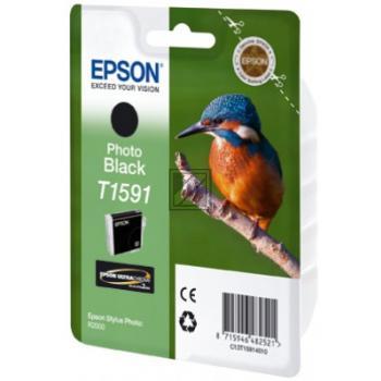 Epson Tintenpatrone Photo-Tinte photo schwarz (C13T15914010, T1591)