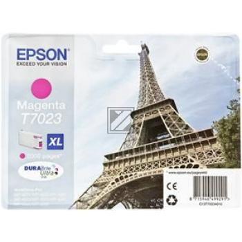 Epson Tintenpatrone magenta HC (C13T70234010, T7023)