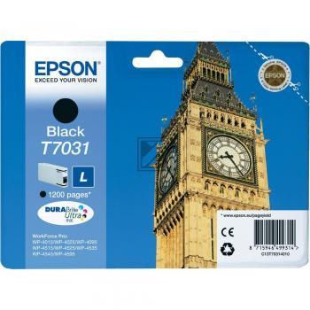 Epson Tintenpatrone schwarz (C13T70314010, T7031)