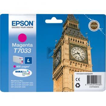 Epson Tintenpatrone magenta (C13T70334010, T7033)