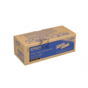 Epson Toner-Kit 2x schwarz 2-er Pack (C13S050631, 0631)