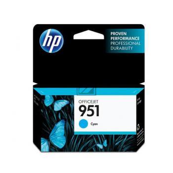 HP Tintenpatrone cyan (CN050AE#BGX, 951)