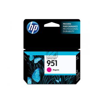HP Tintenpatrone magenta (CN051AE, 951)