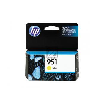 HP Tintenpatrone gelb (CN052AE#BGX, 951)