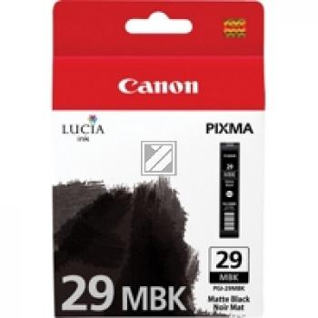 Canon Tintenpatrone schwarz matt (4868B001, PGI-29MBK)