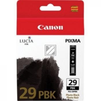Canon Tintenpatrone Photo-Tinte photo schwarz (4869B001, PGI-29PBK)