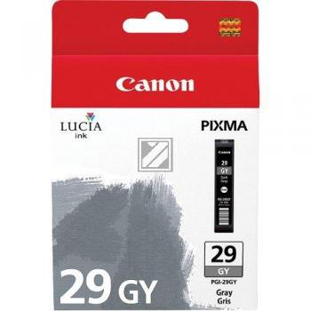 Canon Tintenpatrone grau (4871B001, PGI-29GY)