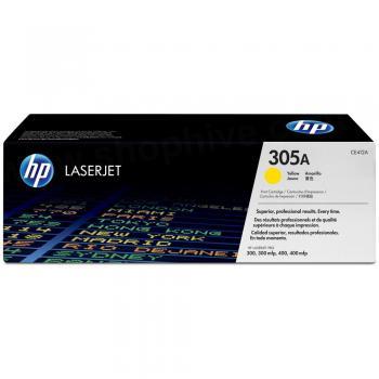 HP Toner-Kartusche gelb (CE412A, 305A)