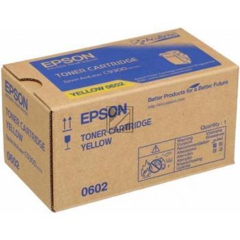 Epson Toner-Kit gelb (C13S050602, 0602)
