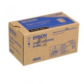 Epson Toner-Kit schwarz (C13S050605, 0605)