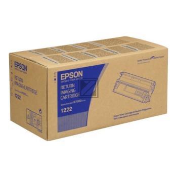 Epson Toner-Kartusche Return schwarz (C13S051222, 1222)