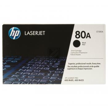 HP Toner-Kartusche schwarz (CF280A, 80A)