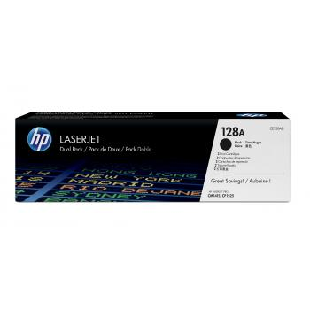 HP Toner-Kartusche schwarz (CE320AD, 128AD)