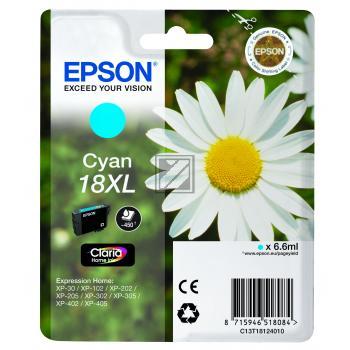 Epson Tintenpatrone cyan HC (C13T18124012, T1812)