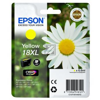 Epson Tintenpatrone gelb HC (C13T18144012, T1814)