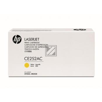 Toner f. HP Color LaserJet CP3525 [CE252YC|PrintPlus] Nr.504A yellow
