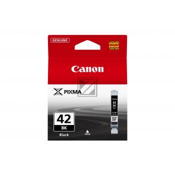 Canon Tintenpatrone schwarz (6384B001, CLI-42BK)