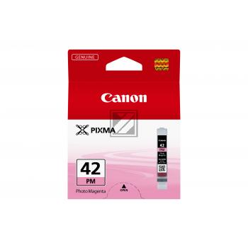 Canon Tintenpatrone Photo-Tinte Photo magenta (6389B001, CLI-42PM)