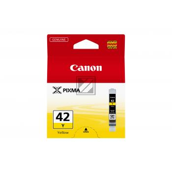 Canon Tintenpatrone gelb (6387B001, CLI-42Y)