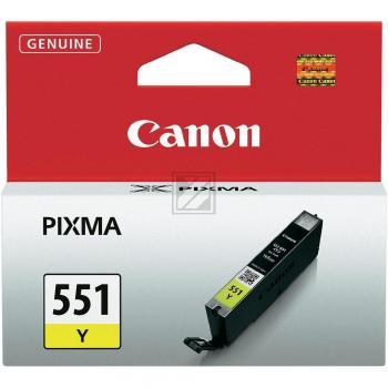 Canon Tintenpatrone gelb (6511B001, CLI-551Y)