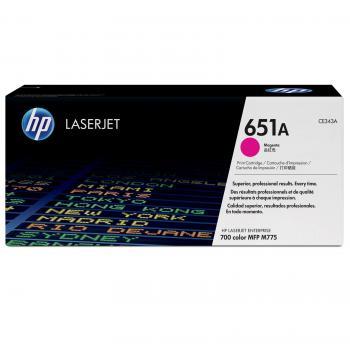 HP Toner-Kartusche magenta (CE343A, 651A)