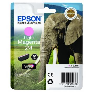 Epson Tintenpatrone magenta light (C13T24264012, T2426)